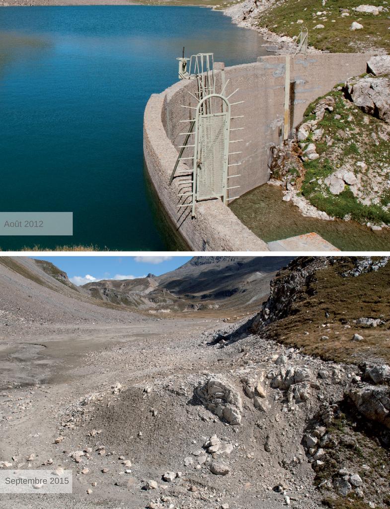 Barrage hydroélectrique du Plan des Nettes