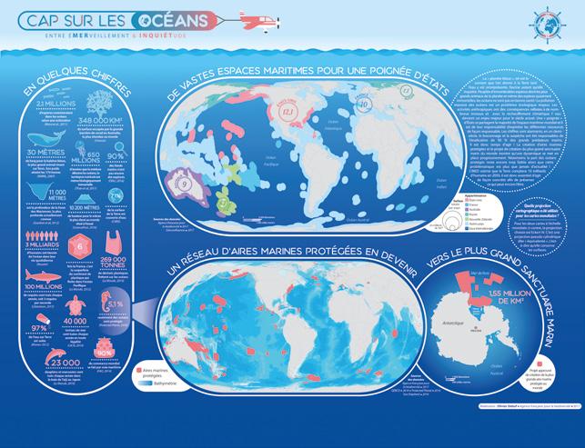 Les océans, entre émerveillement et inquiétude. © Olivier Debuf - OFB