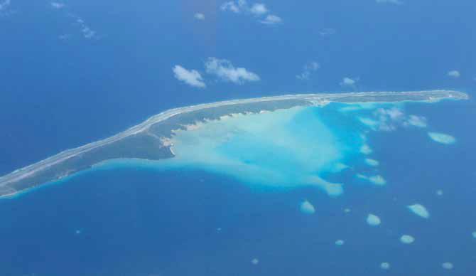 En Polynésie française, la réserve de biosphère de l'Unesco de première génération « atoll de Taiaro » est devenue réserve de biosphère « de la commune de Fakarava » suite à l'adoption, en 1995, d'un cadre statutaire pour le Réseau mondial des réserves de biosphère. © Catherine Cibien