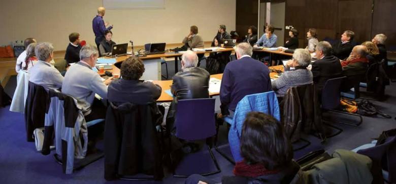 Séance plénière du conseil scientifique du Parc national des Ecrins, 16 octobre 2015, Maison méditerranéenne des sciences de l'homme, Aix-en-Provence.