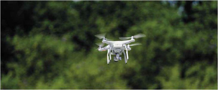Drone © Arnaud Bouissou - Terra