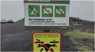 Des interdictions de survol.© Olivier Scher