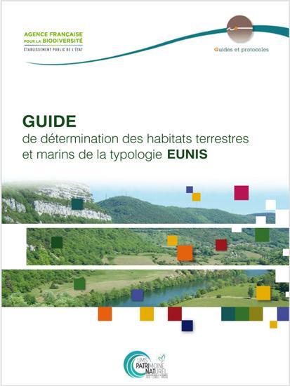 Couverture du guide de détermination des habitats terrestres et marins de la typologie EUNIS