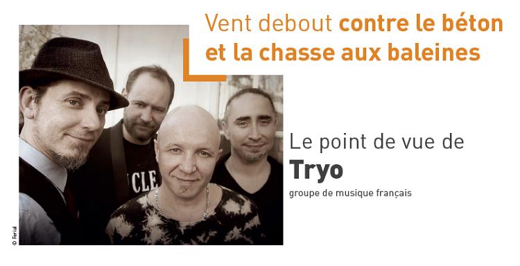 Le point de vue de Tryo groupe de musique français © Ferial