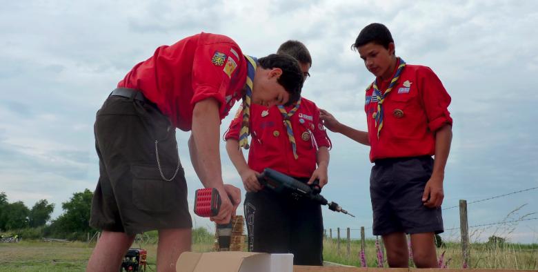 Plus de 600 scouts de France sont venus prêter main-forte à un chantier titanesque de rénovation dans la réserve naturelle vendéenne.