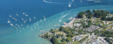 Le golfe du Morbihan, un plan d'eau très fréquenté.