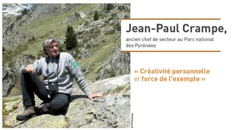 Jean-Paul Crampe, ancien chef de secteur au Parc national des Pyrénées