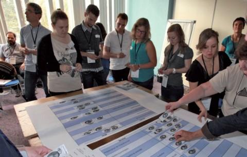Atelier participatif d'évaluation des services rendus par les écosystèmes.