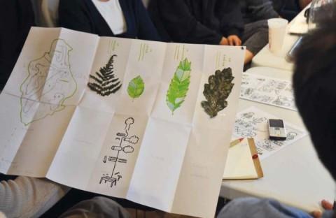 Cet échange était l'occasion d'aborder des problématiques récurrentes avec le regard neuf et extérieur des étudiants en design. © Esdmaa