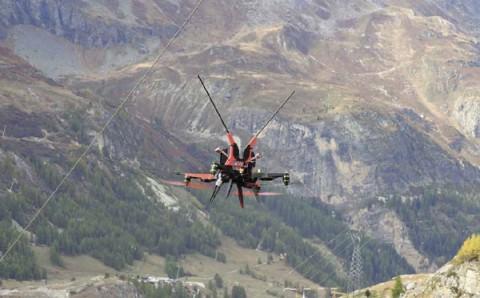 Drone © Sandrine Berthillot - Parc national de la Vanoise