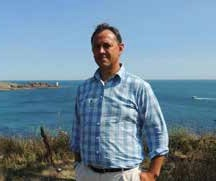 Gaelig Batail, adjoint opérations au directeur délégué du Parc naturel marin (PNM) d'Iroise (PNMI).