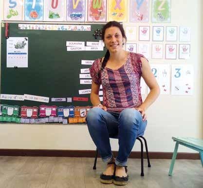 Marion Tanné, professeure des écoles