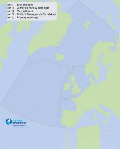 Zones maritimes d'Ospar