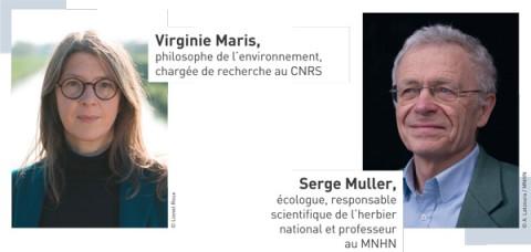 Virginie Maris et Serge Muller - Crédit : A. Latzoura / MNHN